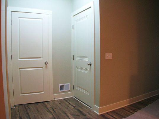 Unit 2521 Back entry closet door and closet