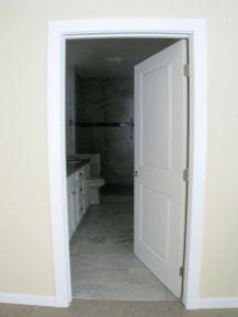 Door to master bath