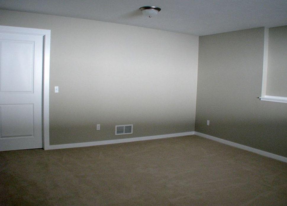 Door on left leads to storage area