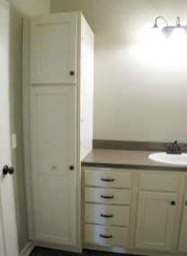 Linen closet in master bath.