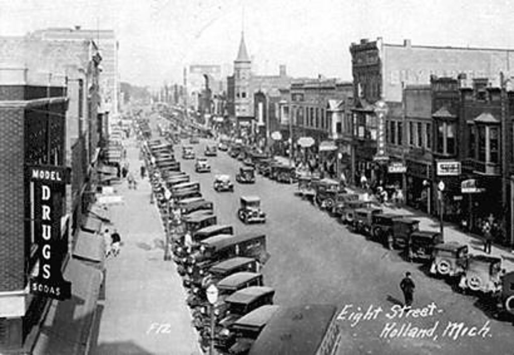 The History Of The Holland , MI & Tulip Time - Compagner