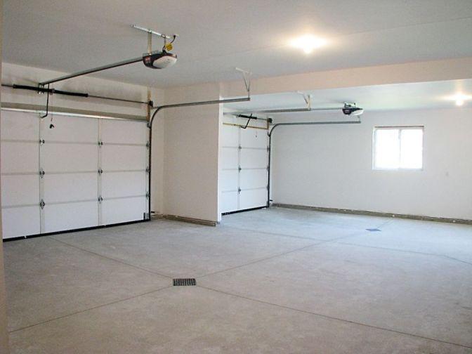 3-stall garage - garage door openers