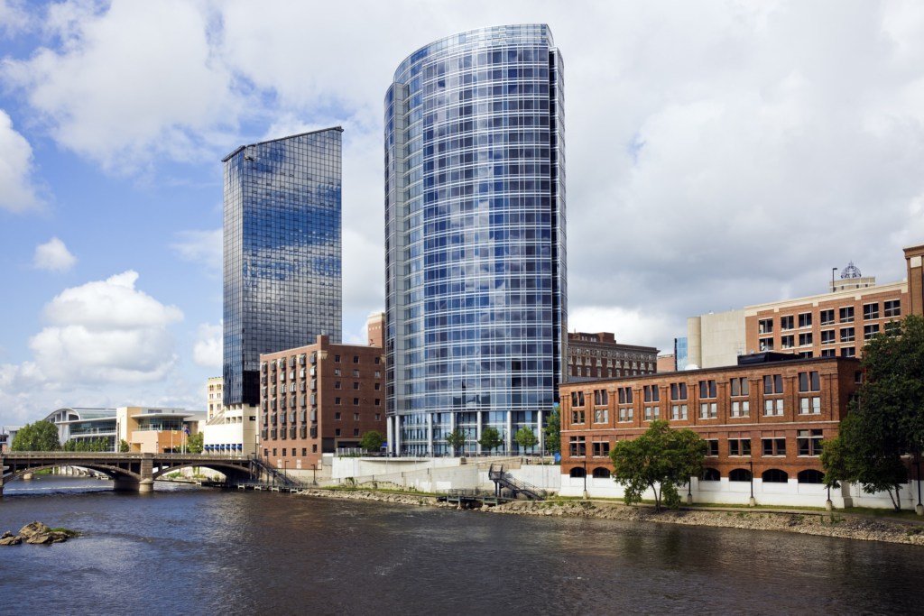 Grand Rapids MI skyscrapers