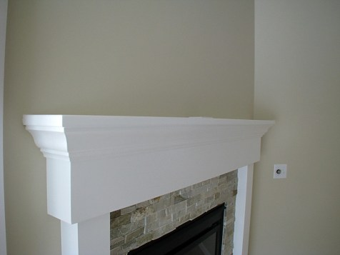 2423-Fireplace mantle