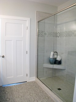 35-Master bath 1 tile shower with glass door
