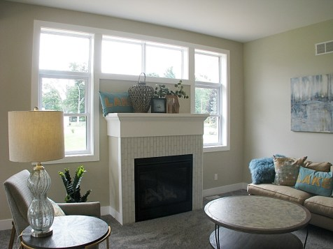 Living room- Gas fireplace-02