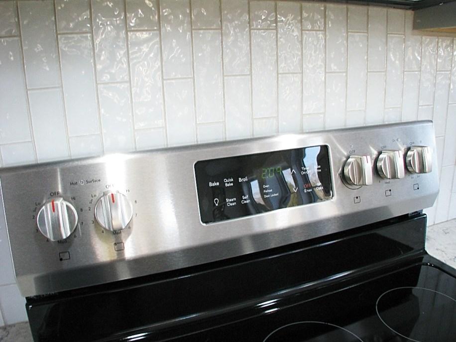 6406 stove and backsplash