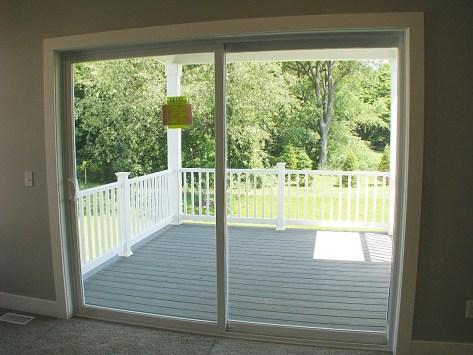 Living room-slider to deck
