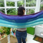 Waves Shawl - I've Been Unfaithful to Kidsilk Haze