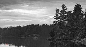Storm on Grundy Lake