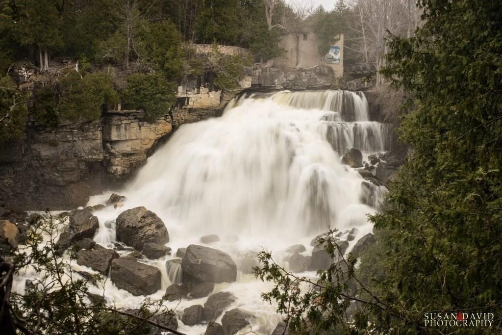 Inglis Falls_above