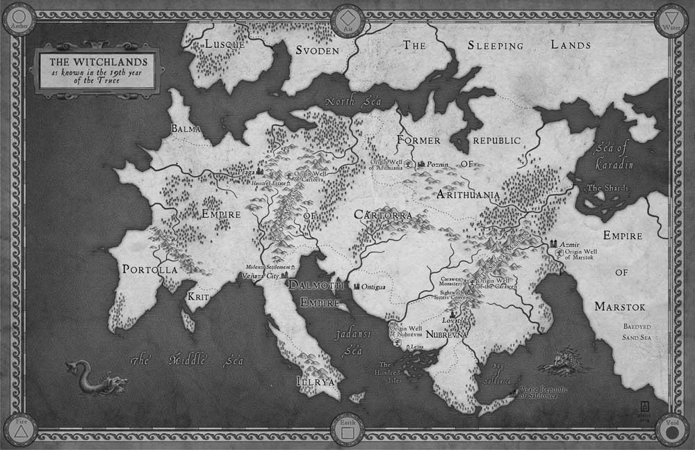 Резултат с изображение за truthwitch book map
