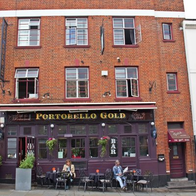Portobello Gold on Portobello Road