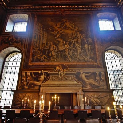 Old Royal Naval College Dining Hall