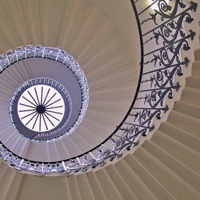 The Tulip Stairs at The Queen's House, Greenwich