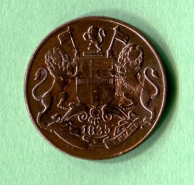 East India Company Coin (1/2)