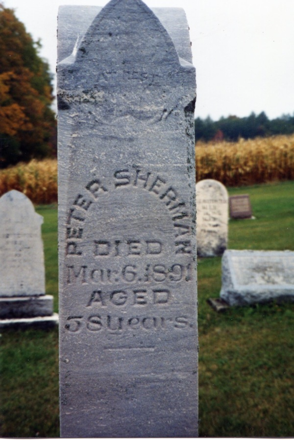Sherman Gravestones, part 2 (3/6)