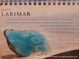 Here's more info on Larimar