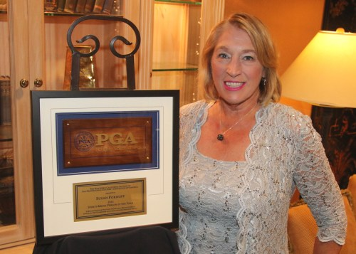 Image of Susan Fornoff, NCPGA Media Person of 2015
