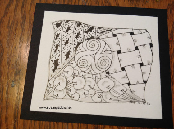 Untangle With Zentangle {Thursday Therapy}