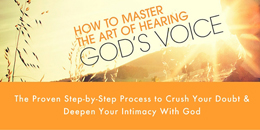 Susan Gaddis Blog index sidebar Hear God's Voice course image Blog index sidebar