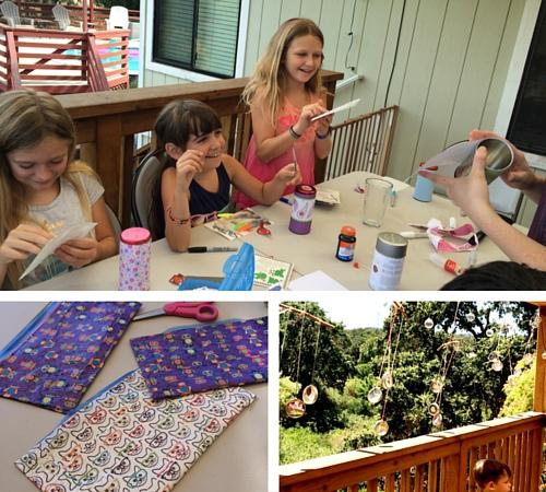 Camp Grandma 2016 Crafts