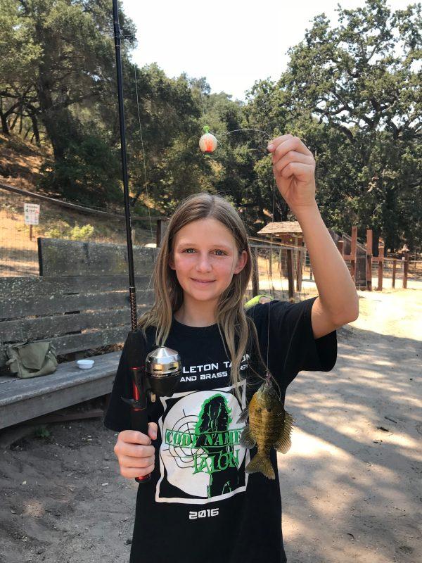 Camp Grandma 2018 fishing
