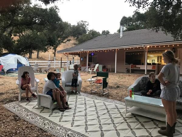 Camp Grandma 2018 skit practice
