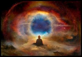 3.Buddha in the eye of Cosmos