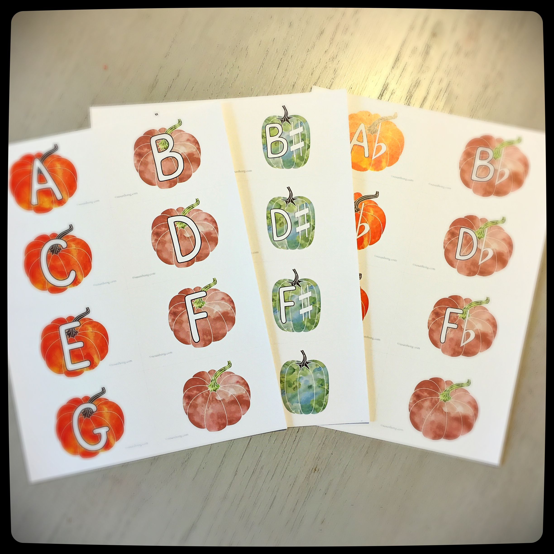 Pumpkin Patch Flashcard Bundle With Bonus Happy Halloween