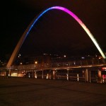 Picture of Millenium Bridge Newcastle upon Tyne