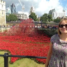 Tower of London Poppies WW1 Centenary