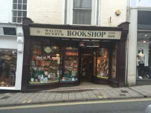 Photograph of Walter Henry's Bookshop