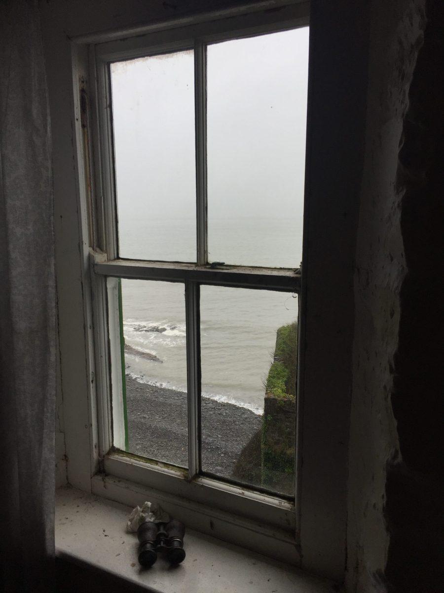 View from the Cabin, Bucks Mills, North Devon