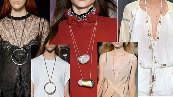 spring summer trends necklaces