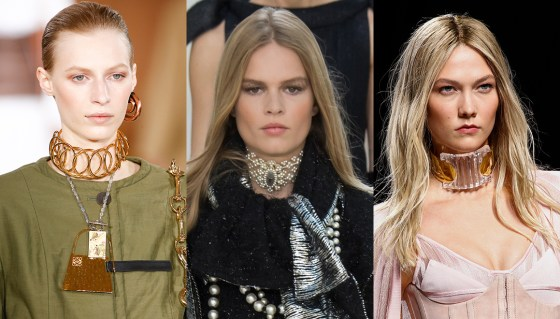 chokers runway fall jewelry trends 2016