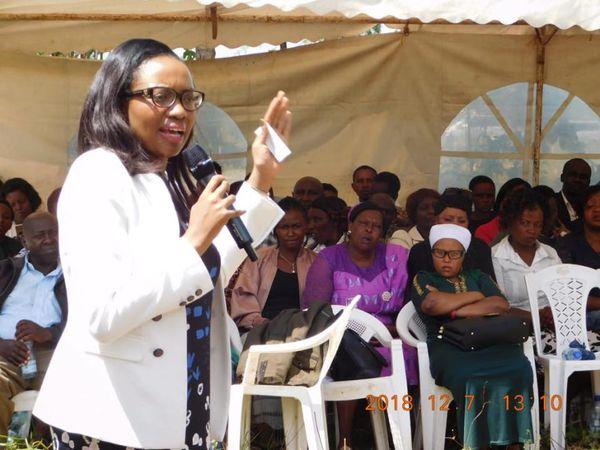 Senator Susan Kihika praises teachers for their unity