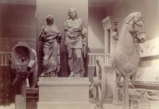 Fragments of Quadriga from Mausoleum, Halicarnassus, in British Museum | Source: Wikimedia Commons / public domain