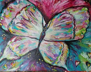 Transformation:  Butterfly Painting