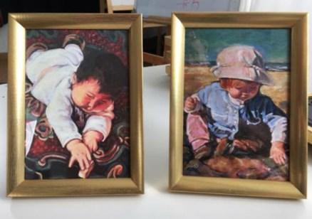 12 art framed for classroom