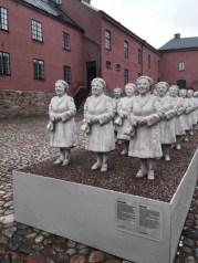 """""""Svenska Tantens Armé"""" Hallands Museum Varbergs Fästning"""