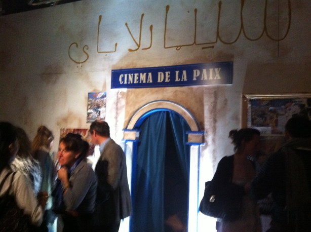 Secret Cinema's screening room for The Battle of Algiers