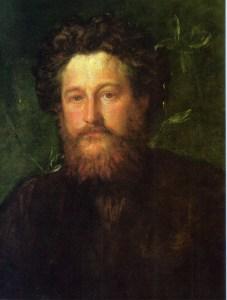 George_Frederic_Watts_portrait_of_William_Morris_1870