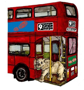Step Outside Guide The London Treasure Trail (illustration Sam Fenn)