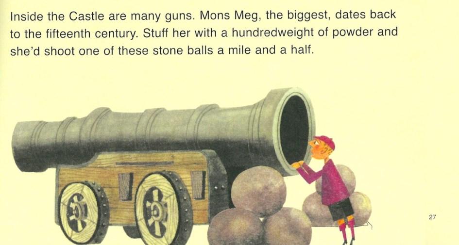 This is Edinburgh, M Sasek, Mons Meg cannon