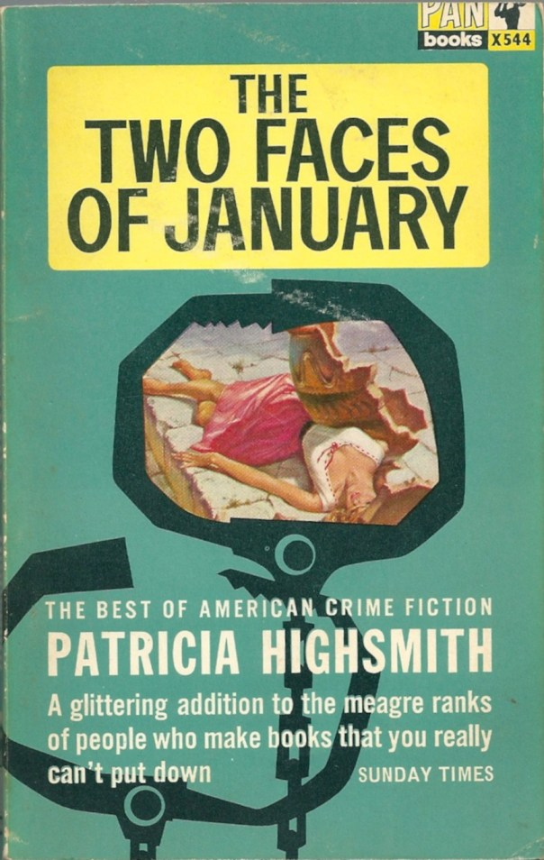 The Two Faces of January, Patricia Highsmith (Pan paperback 1964)