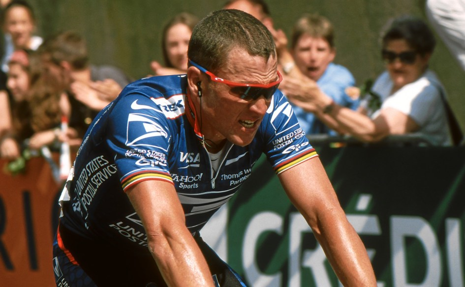 """Lance Armstrong MidiLibre 2002"" by de:Benutzer:Hase - Self-photographed. Licensed under CC BY-SA 3.0 via Wikimedia Commons."