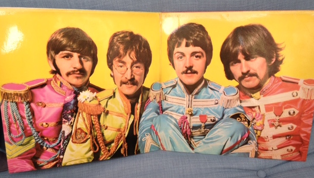 Sgt. Pepper LP cover