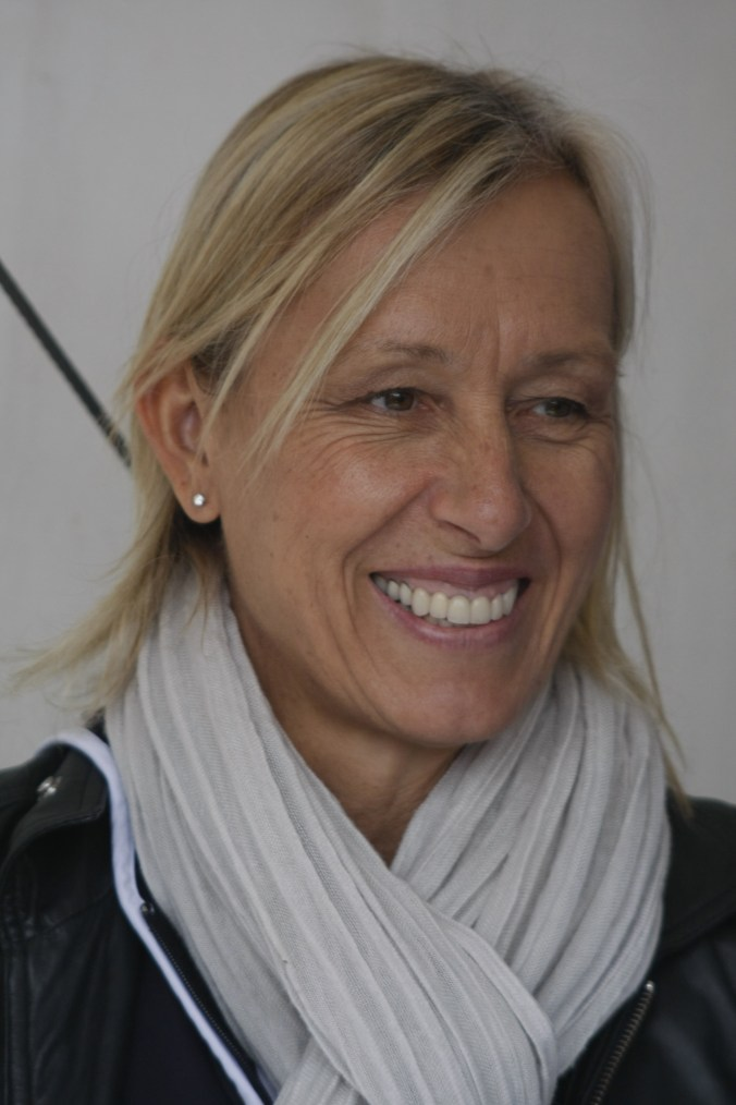 Martina Navratilova, Aegon International Tennis, Eastbourne 2011