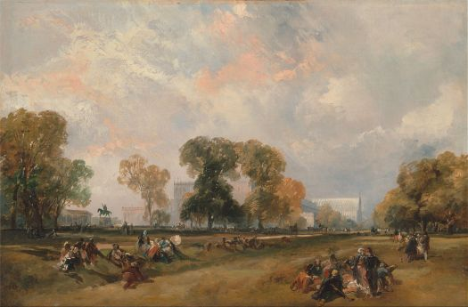 The Great Exhibition by James Duffield Harding